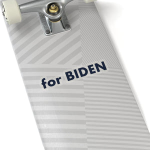 """for Biden"" add-on Stickers in Strato Blue"
