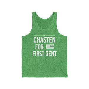 Chasten for First Gent - Jersey Tank - mayor-pete