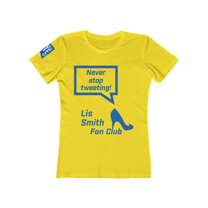 Never Stop Tweeting! - Women's The Boyfriend Tee - mayor-pete