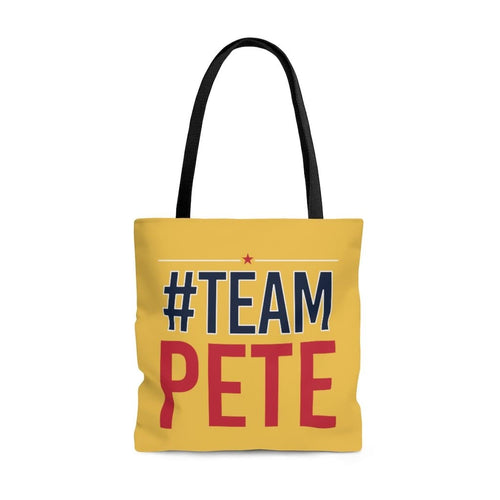 Team Pete Tote Bag