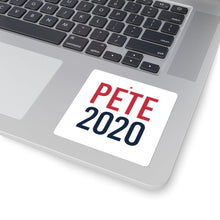 Load image into Gallery viewer, Pete 2020 Square Stickers - mayor-pete