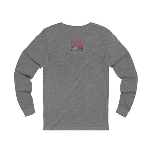 """BKLYN 4 Pete"" Unisex Jersey Long Sleeve Tee - mayor-pete"