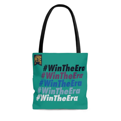 Copy of #WinTheEra in Grassroots Green - AOP Tote Bag