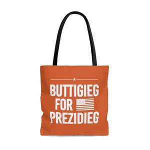 """Buttigieg for Prezidieg"" - Rust Belt - Tote Bag"