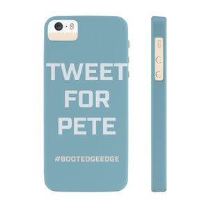Tweet for Pete - phone case - mayor-pete