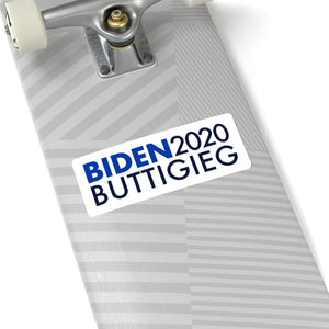 Biden Buttigieg Stickers