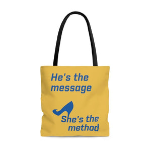 """She's the Method"" Tote Bag"