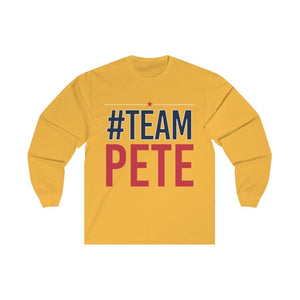#TeamPete Unisex Jersey Long Sleeve Tee
