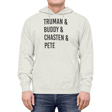 "Load image into Gallery viewer, ""Truman & Buddy"" -  Lightweight Hoodie"