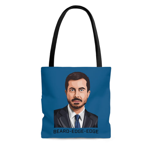 BEARD-EDGE-EDGE Tote Bag