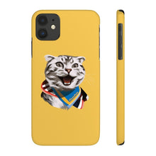 Load image into Gallery viewer, Happy Excited Cat - #TeamPete - Phone Case