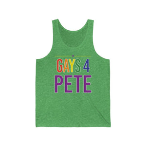 Gays 4 Pete Jersey Tank - mayor-pete