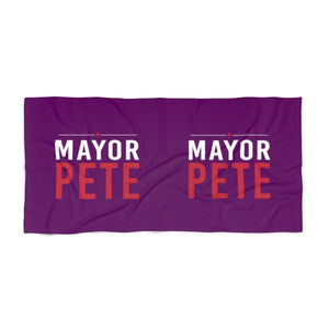 Mayor Pete Beach Towel - mayor-pete