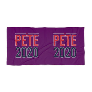 Pete 2020 Beach Towel - mayor-pete