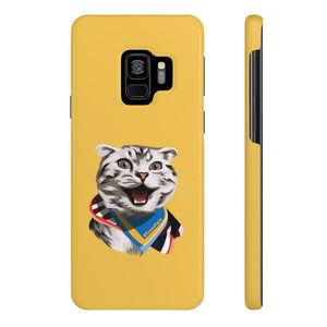 Happy Excited Cat - #TeamPete - Phone Case