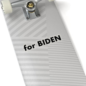 """for Biden"" add-on Stickers in black"