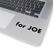 "Load image into Gallery viewer, ""for JOE"" add-on Stickers in Black"