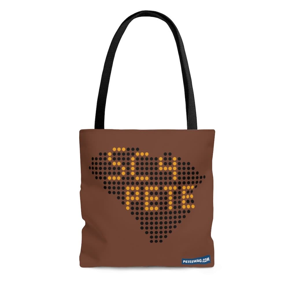 SC4Pete Dot-to-Dot South Carolina Tote Bag