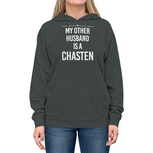 """My Other Husband is a Chasten""  -  Lightweight Hoodie"