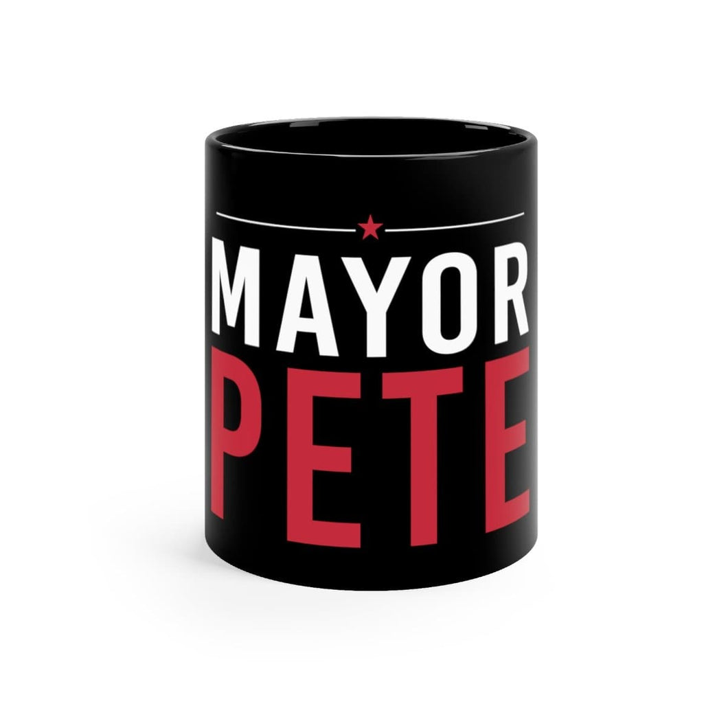 Mayor Pete Mug (Black 11oz) - mayor-pete