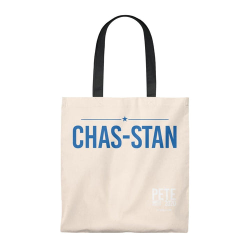 Chas-Stan -  Tote Bag - Vintage - mayor-pete