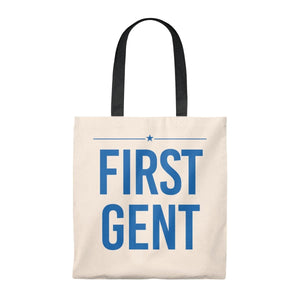 First Gent -  Tote Bag - Vintage - mayor-pete