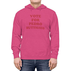 """Vote for Pedro Buttigieg!"" Lightweight Hoodie"