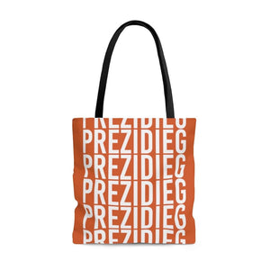 """Prezidieg all over"" - Rust Belt - Tote Bag"