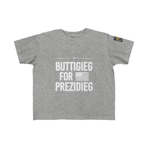 """Buttigieg for Prezidieg"" Kid's Fine Jersey Tee"