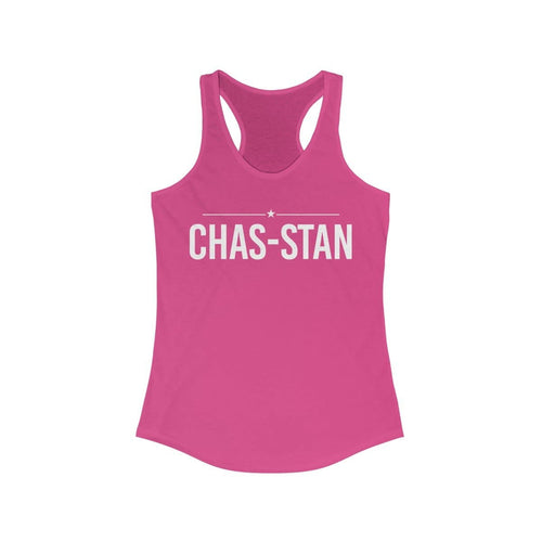 Chas-Stan - Women's Ideal Racerback Tank - mayor-pete