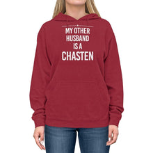"Load image into Gallery viewer, ""My Other Husband is a Chasten""  -  Lightweight Hoodie"