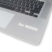 "Load image into Gallery viewer, ""for Biden"" add-on Stickers in White"