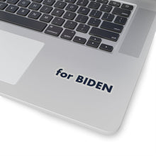"Load image into Gallery viewer, ""for Biden"" add-on Stickers in Strato Blue"