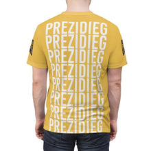 "Load image into Gallery viewer, ""Prezidieg all over"" Cut & Sew Tee"