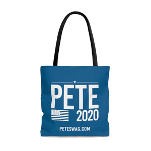 Pete 2020 - River Blue - Tote Bag