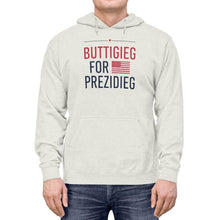 "Load image into Gallery viewer, ""Buttigieg for Prezidieg!"" Lightweight Hoodie"