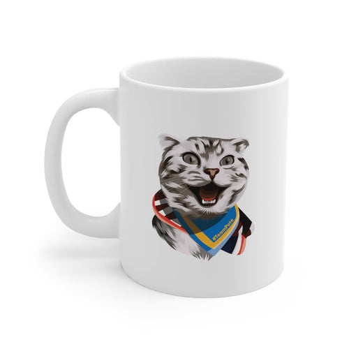 Happy Excited Cat - #TeamPete -  Mug