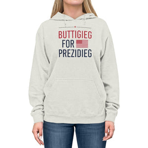 """Buttigieg for Prezidieg!"" Lightweight Hoodie"