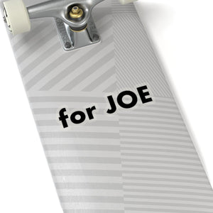 """for JOE"" add-on Stickers in Black"