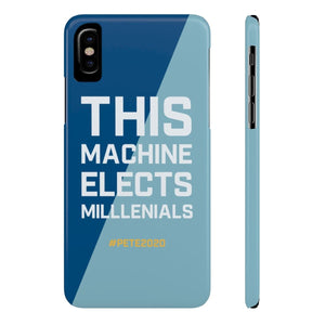 This Machine Elects Millennials - phone case - mayor-pete