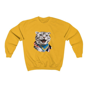 Happy Excited Cat - #TeamPete - Sweatshirt