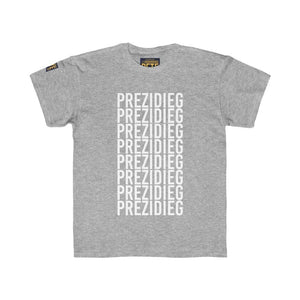 """Prezidieg All Over"" Kids Regular Fit Tee"