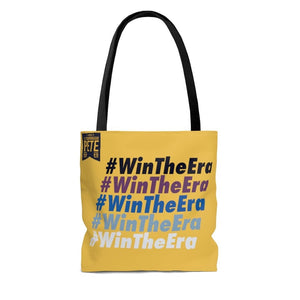 #WinTheEra in Heartland Yellow - AOP Tote Bag