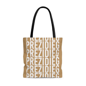 """Prezidieg all over"" - Buddy Gold - Tote Bag"