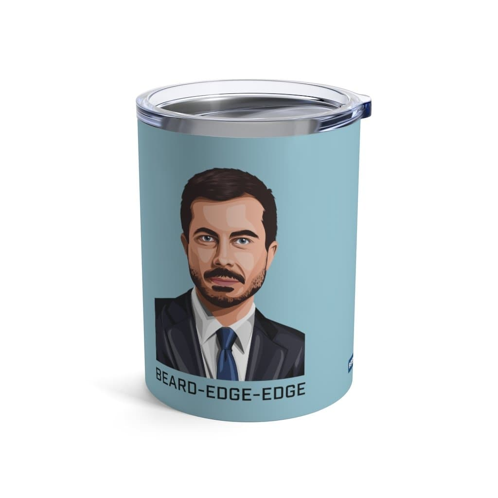 BEARD-EDGE-EDGE Tumbler in Blue Sky