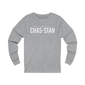Chas-Stan - Unisex Jersey Long Sleeve Tee - mayor-pete