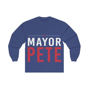 Mayor Pete Unisex Jersey Long Sleeve Tee