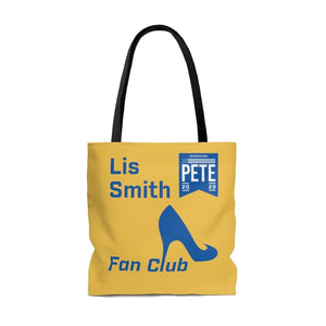 """Lis Smith Fan Club"" Tote Bag"