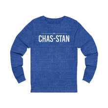 Load image into Gallery viewer, Chas-Stan - Unisex Jersey Long Sleeve Tee - mayor-pete