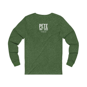 First Gent - Unisex Jersey Long Sleeve Tee - mayor-pete